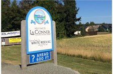 - Architectural Signage - Sandblasted Sign - City of LaConner - LaConner, WA